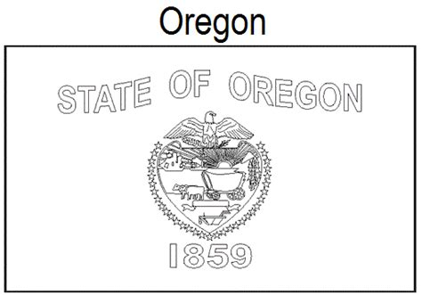 43 California State Flag Coloring Page, California State