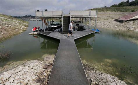 Medina Lake Boat Rentals by Medina Lake Drought Timeline 2011 2015 San Antonio