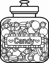 Candy Coloring Pages Printable Sweets Bar Colouring Drawing Chocolate Lollipop Children Template Donuts Colo Printables Adult Christmas Colorful sketch template