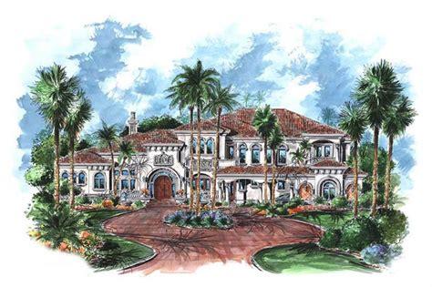 luxury home plans mediterranean wdg    home design