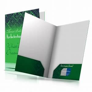 presentation folders With printed document folder
