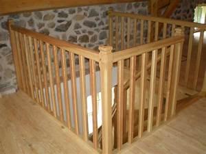 Balustrade En Bois : garde corps bois interieur pas cher ~ Melissatoandfro.com Idées de Décoration