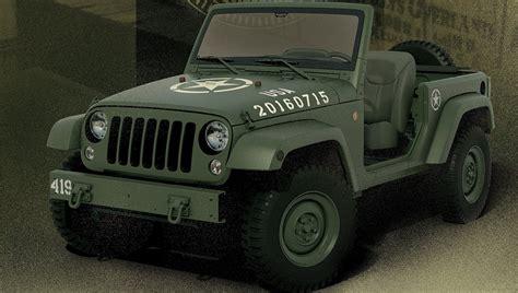 future jeep wrangler 2016 jeep wrangler 75th salute concept picture 682698