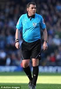 Football Referee Running
