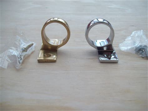 quality polished chrome brass window sash eye ring pull lift