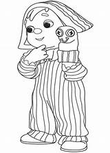 Puppet Coloring Glove Playing Kid sketch template