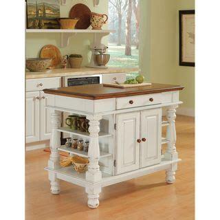overstock kitchen island northrup antique white kitchen island overstock 1350