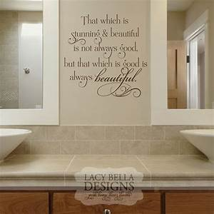 60 best images about bathroom decals on pinterest for Bathroom wall letters