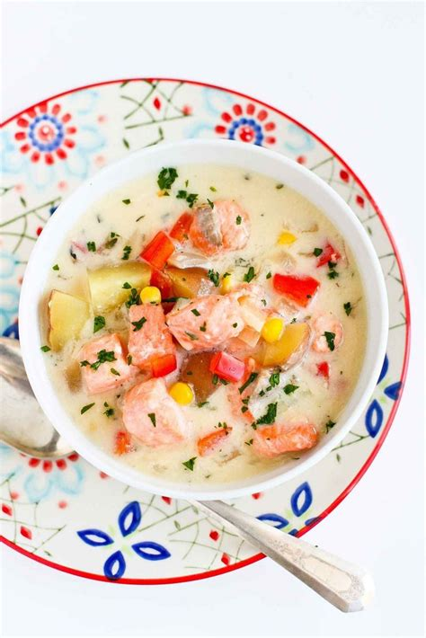 cooking light recipes smoked salmon chowder cooking light