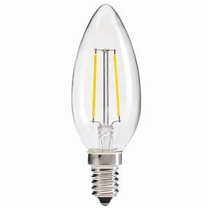 Filament Led E14 : led filament candle bulb lighting matters ~ Markanthonyermac.com Haus und Dekorationen