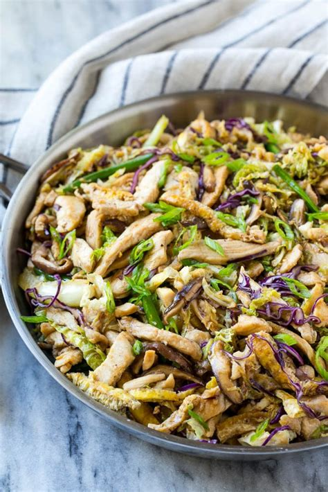 Moo Shu Chicken - Dinner at the Zoo