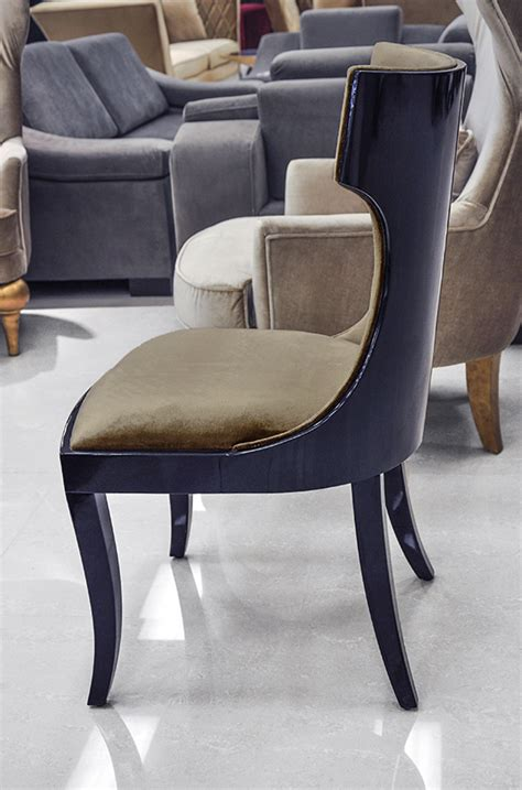 modern dining chair black dining chair roma