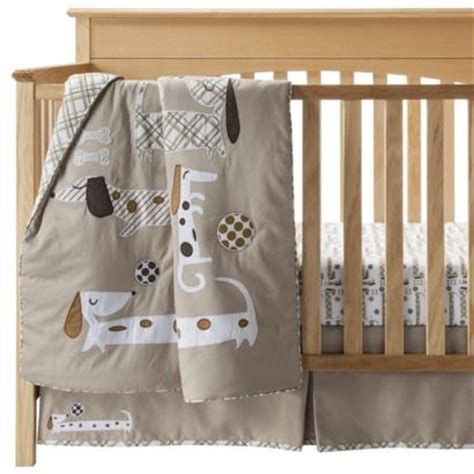 dachshund nursery bedding set nanas sweetheart