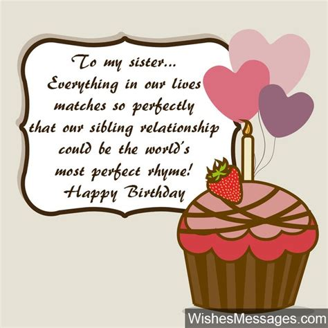 Birthday Wishes For Sister Quotes And Messages