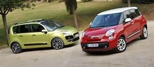 Monospace Fiat : comparatif fiat 500 l et citro n c3 picasso du charme et du volume ~ Gottalentnigeria.com Avis de Voitures