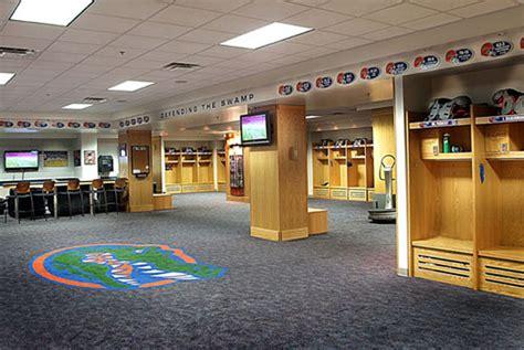 college football locker rooms