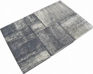 Beton Pigmente Hornbach : beton terrassenplatte istone plus wei schwarz mehrformat st rke 5cm nur lagenweise erh ltlich ~ Buech-reservation.com Haus und Dekorationen