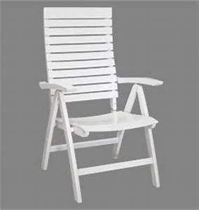 Gartenstuhl Holz Weiß : hochwertiger gartenstuhl wei verstellbarer komfort ~ Lateststills.com Haus und Dekorationen