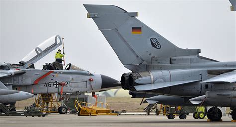 Germany's Tornado Jets Made Some 150 Flights As Part Of