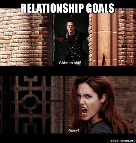 Relationship Goals Memes - relationship goals make a meme