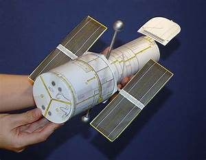 Use this link to make a PVC Hubble Telescope Model http ...