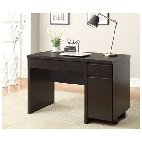 modern black desk with drawers desk with drawers meika desk with drawers bedford 4