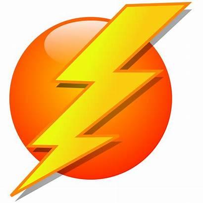 Lightning Clip Clipart Icon