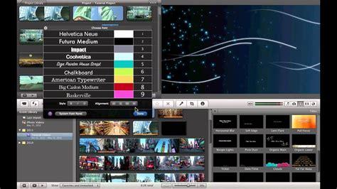 Basic Video Editing Imovie Part Youtube