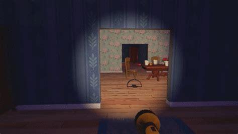 basement door genius hello gif find on giphy