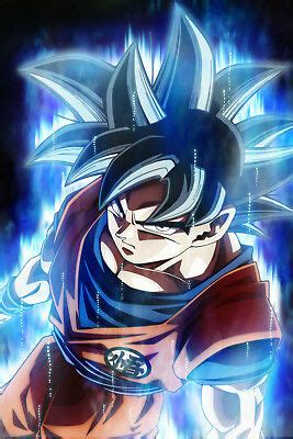 dragon ball super poster goku ultra instinct inxin