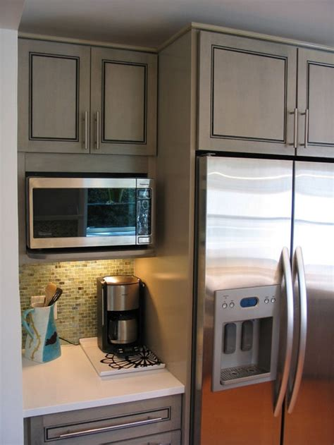 microwave wall cabinet houzz