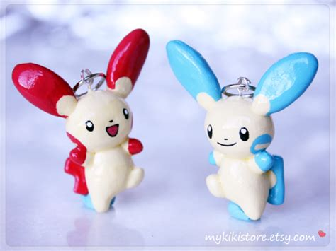 Plusle And Minun By Krystalstants On Deviantart