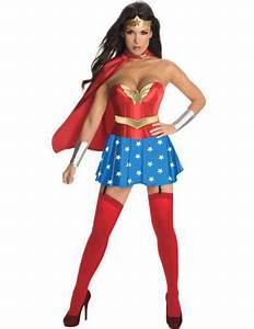 Kostüm Superhelden Damen : deluxe wonder woman damenkostuem karneval verkleidung damen karneval kost m schmink ideen ~ Frokenaadalensverden.com Haus und Dekorationen
