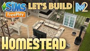 sims freeplay let39s build a family homestead live build With homestead furniture conroe tx