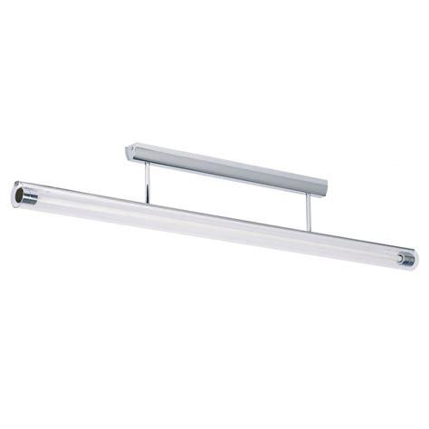 endon modern polished chrome fluorescent ceiling light