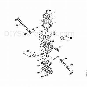 Stihl 018 Chainsaw  018c  Parts Diagram  Carburetor C1q