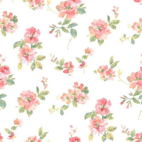 rustic wall treatments chesapeake captiva watercolor floral wallpaper