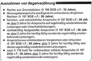 Bgb Verjährung Rechnung : schuldrechtsmodernisierungsgesetz die verj hrung der ~ Haus.voiturepedia.club Haus und Dekorationen