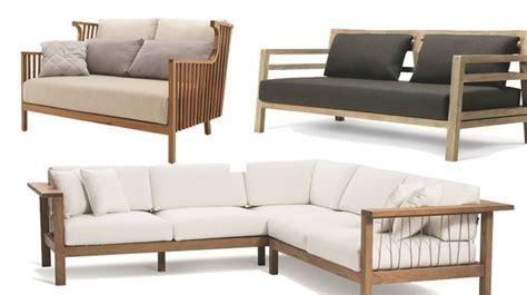 canapé jardin bois salon de jardin design meubles d 39 extérieur et astuces d