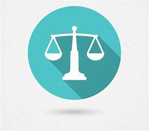scales balance icon, harmony concept ~ Icons on Creative ...