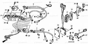 Honda Motorcycle 2010 Oem Parts Diagram For Ignition Coil