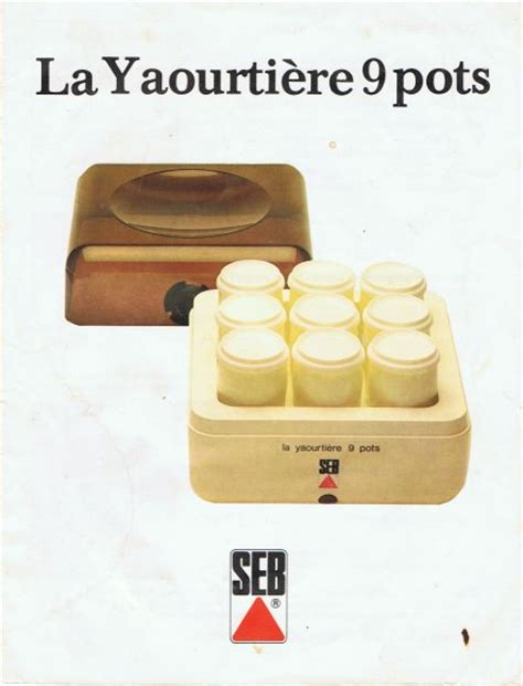 notice yaourti 232 re seb 8872 ustensiles de cuisine
