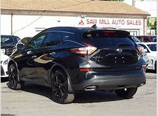 2018 Used Nissan Murano SL AWD Midnight Edition w