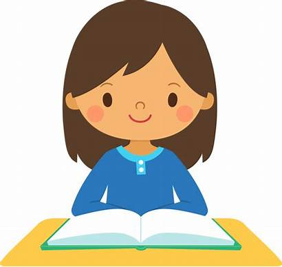 Clipart Student Activity Clip Happy Clipartion Read