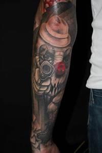 Off the Map Tattoo : Tattoos : Evil : Horror Clown ...