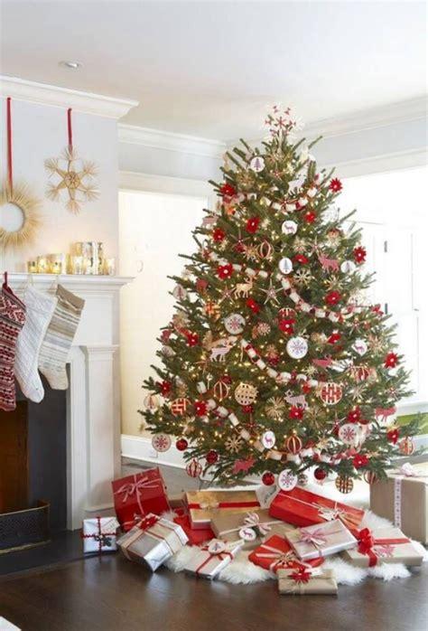 beautiful red  gold christmas decor ideas