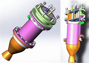 News  U00bb Rocket Engine With A Thrust Of 100 Kgf Is Assembled And Ready For Testing