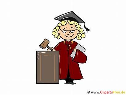Clipart Richter Cartoon Bild Kuva Judge Tegneserie