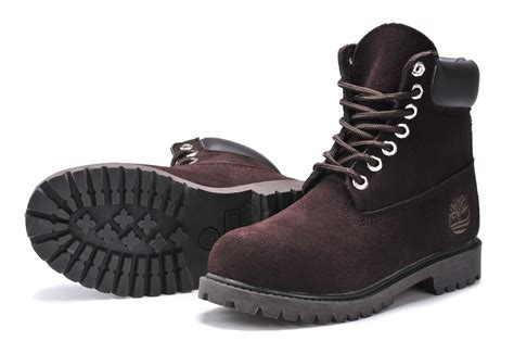 Timberland Earthkeepers Rugged 6 Boot by Timberland Femme Bordeaux