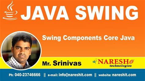 Swing Components by Java Swing Tutorial Swing Components Java Mr